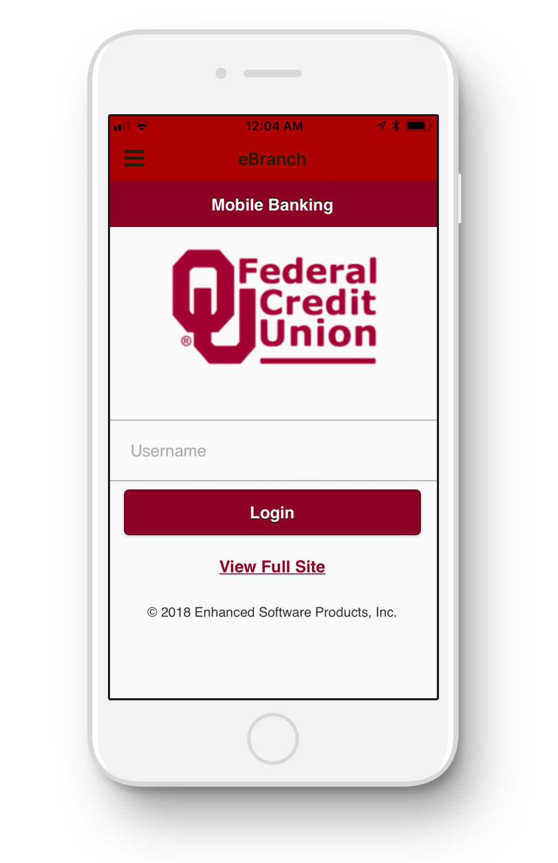 OU Federal Credit Union iPhone app
