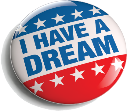 I have a dream on wearable button